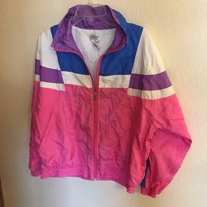 Jackets & Blazers - Vintage windbreaker jacket